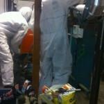 Retirada de amianto friable