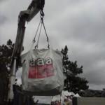 Transporte a vertedero de residuos de fibrocemento y o amianto